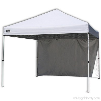 Quik Shade Commercial 10'x10' Straight Leg Instant Canopy (100 sq. ft. coverage) 553254424