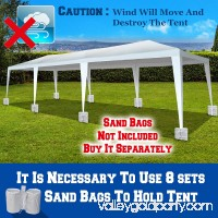 Sunrise 10' x 30' Wedding Party Tent Gazebo BBQ Pavilion Canopy W/4 Sidewalls   567390179