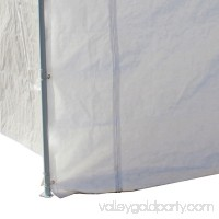 Caravan Canopy Sports 10'x20' Domain Carport Garage Sidewall/Enclosure Kit (Frame and Top Not Included)   001657617
