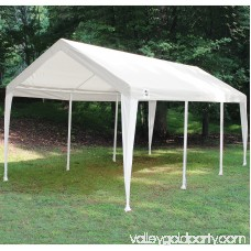 King Canopy Titan 10 x 20 ft. Canopy Replacement Cover - White
