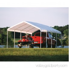 Shelterlogic 12' x 26' White Canopy Replacement Cover Fits 2 Frame 554796281