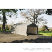 Shelterlogic 13' x 28' x 10' Peak Style Carport Shelter 554797629