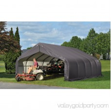 Shelterlogic 18' x 28' x 11' Peak Style Shelter, Green 554797217