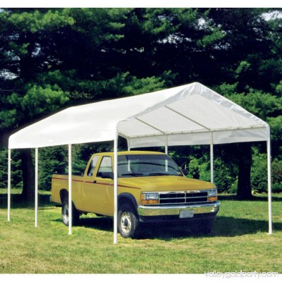 Shelterlogic Max AP 10' x 20' 2-in-1 Canopy with White Cover Enclosure Kit 554797721