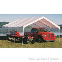 Shelterlogic Super Max 18' x 20' White Premium Canopy   554795150
