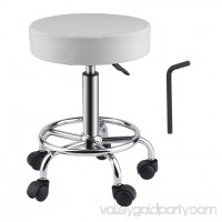 Height Adjustable Salon Stool 360 Degree Swivel Hydraulic Rolling Beauty Chair   570696055