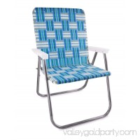 Aluminum Webbed Magnum Chair (Sea Island)
