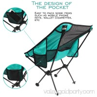 Folding Camping Backpack Chairs, Fbsport Lightweight Portable Heavy Duty Chairs with pocket