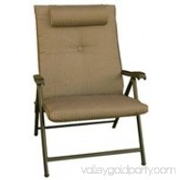 Prime Products Prime Plus Folding Chair, Desert Taupe, 13-3375   553919918