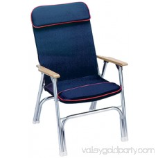 Seachoice Canvas Folding Chair, Blue 552700896