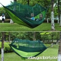 2 Person Hanging Hammock Bed With Mosquito Net Parachute Cloth Hammock   570358061