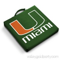 Logo Chair NCAA Miami Stadium Cushion   563294433