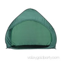 ALEKO BSP79GR Pop-Up Weather Resistant Bike Storage Tent, Green   563478245