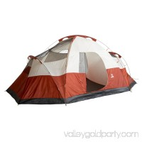 Coleman Red Canyon 8 Person 17 x 10 Foot Outdoor Camping Large Tent 000953263
