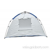 Deluxe Instant PopUp Beach Tent / Shelter / Cabana UPF 100+