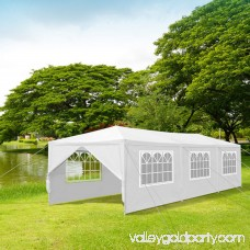 Ktaxon 10'x30' Upgraded 8 Sides Heavy duty Gazebo Canopy Outdoor Party Wedding Tent