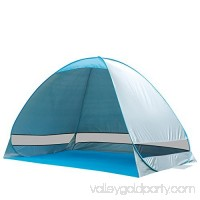 La Jolla Portable Instant Pop Up UV Beach Tent Beach Tent Beach Shelter, Blue