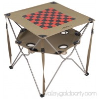ALPS Mountaineering Eclipse Table w Checkerboard Top & Game Pieces 552111205