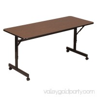 Correll EconoLine Flip Top Table - Melamine Top