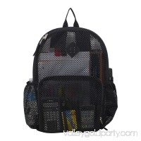 Eastsport Multi-Purpose Mesh Backpack with Front Pocket, Adjustable Straps and Lash Tab   567669655