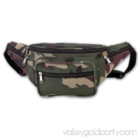Extreme Pak LUCAMWB Extreme Pak Invisible Pattern Camo Water Repellent Waist Bag 557334224