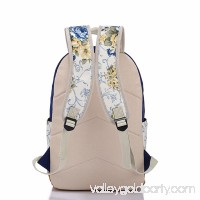 Girl Backpack Canvas Student Bookbag Girls School Backpack Set 3 Pcs includ backpack pencil case lunch bag