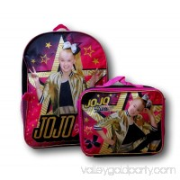 Nickelodeon Girl Jojo Siwa 16 Backpack With Detachable Matching Lunch Box