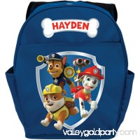 "Personalized Paw Patrol Ready for Adventure Blue 14""W x 19""H Youth Boy Backpack   550243039"