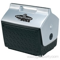 Playmate The Boss Coolers, 14 qt, Black/Silver   554745070