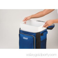 Coleman 42-Can Soft Cooler with Removable Liner & Wheels, Blue   555243225