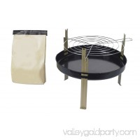 Marsh Allan #8 Disposable Grill With Charcoal, 11""