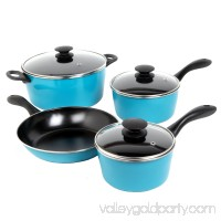 Sunbeam Armington 7-Piece Cookware Set, Red   551616174
