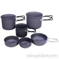 Proforce Equipment Cookware 6 Piece Essentials Mess Kit   550052787