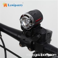 1200LM 3 Modes USB Rechargeable LED Headlamp Headlight Bike Bicycle Front Light Color:black
