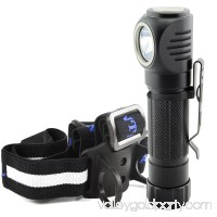 Lumintrail LTH-20 LED Headlamp Angle Head Worklight Flashlight
