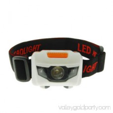 Otimo Ultra Bright Camping or Emergency Headlamp LED -- Adjustable -- White and Red LED Lights