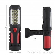 200 Lumen 37 LED Worklight Flashlight with Hook & Magnets by Stalwart 564755563