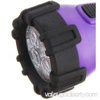 Dorcy Floating Waterproof LED Flashlight with Carabineer Clip, 32 Lumens, Purple 551730723