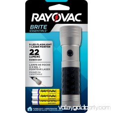 Rayovac Brite Essentials 3AAA LED Flashlight and Laser Pointer BELZ3AAA-BA 551725568