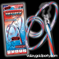 4th of July Patriotic Red, White, And Blue Swirl Glow Set