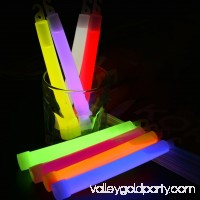6-Inch Light Sticks LED Plastic Sticks Party Flashing Glow Stick With Hook