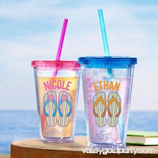 Personalized Sandals in the Sand Tumbler, Available in 2 Colors 555435915