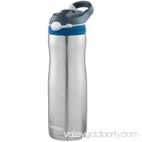 Contigo AUTOSPOUT Straw Ashland Chill Stainless Steel Water Bottle, 20 oz., SS Sangria 568932622
