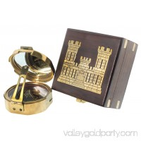 "3"" POCKET TRANSIT COMPASS - Castle Box - ARMY ENGINEER"
