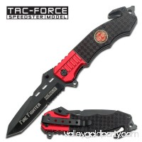 8.5 Firefighter Spring Assisted Pocket Knife by Tac Force