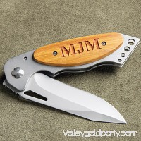 Personalized Pocket Knife with Wood Handle 551927061