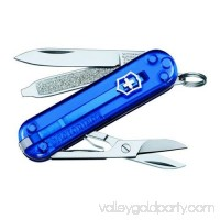 Victorinox Swiss Army Classic SD Multi-Tool Pocket Knife - 54212 Sapphire Blue 554448216