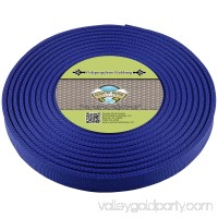 Country Brook Design® 3/4 Inch Royal Blue Polypropylene (Polypro) Webbing