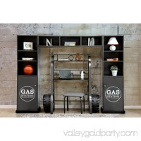 Furniture of America Valero Gas Station 3-Piece Shelves 556674596