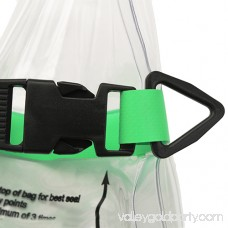 Seattle Sports Glacier Clear Dry Bag, Clear/Lime 554421080